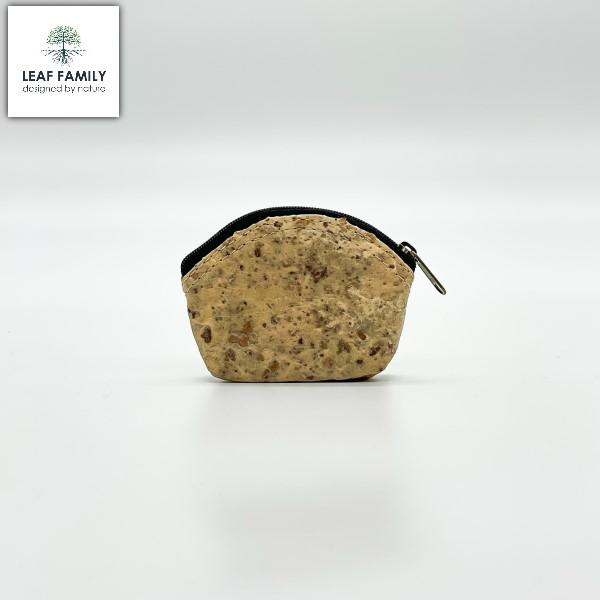 Vegane und nachhaltiger Münzbeutel und/oder Kosmetik-Tasche aus Maulbeerbaumrinde mit Tamarind bzw.