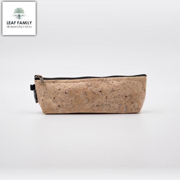 Vegane nachhaltige Kosmetiktasche/Federmäpchen - Tasche Maulbeerbaum mit Tamarind bzw. Black Garlic