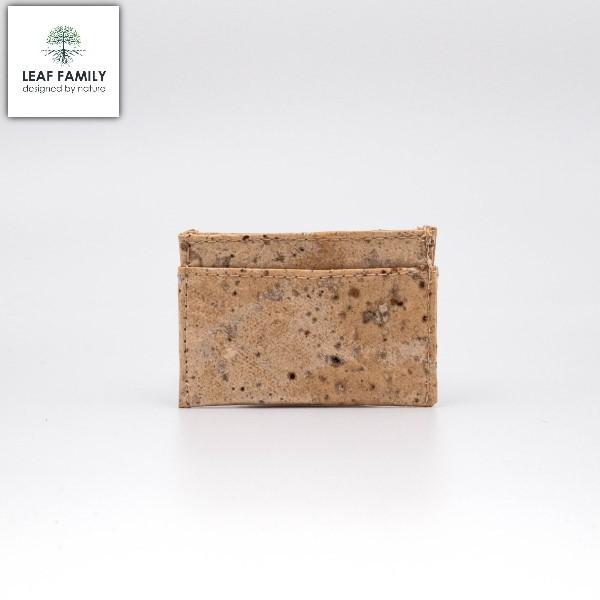 Veganes und nachhaltiges Mini-Karten- und Geldschein Etui aus Maulbeerbaum- und Tamarinde