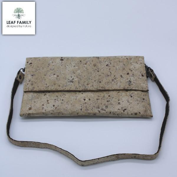 Vegane und nachhaltige Handtasche - schmal aus Maulbeerbaumrinde und Tamarind