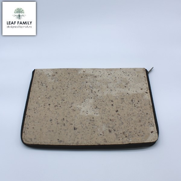 Vegane und nachhaltige Laptop/Arbeitsmappe - Tasche aus Maulbeerbaum- und Tamarinde